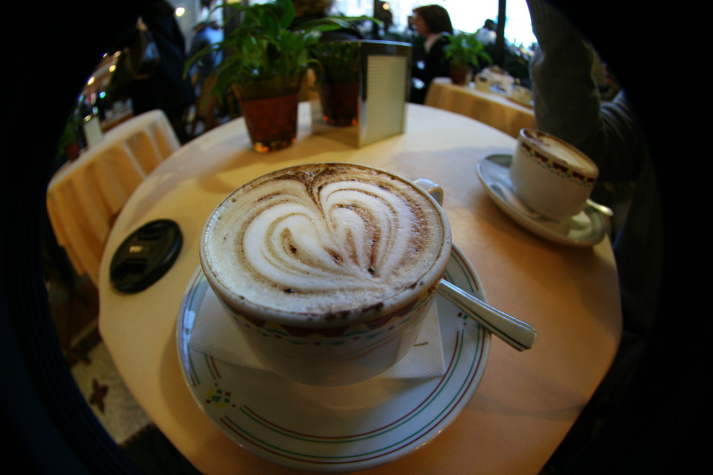 We enjoyed a few cappuccinos at , located near the main square.
