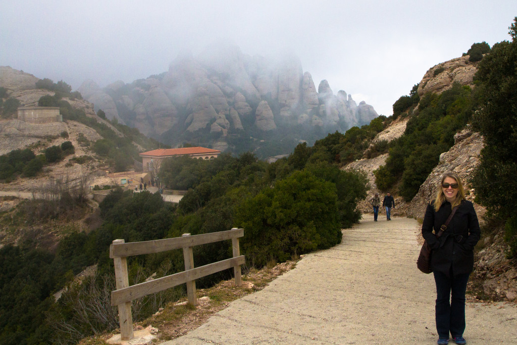 A hike at the top of Montserrat.