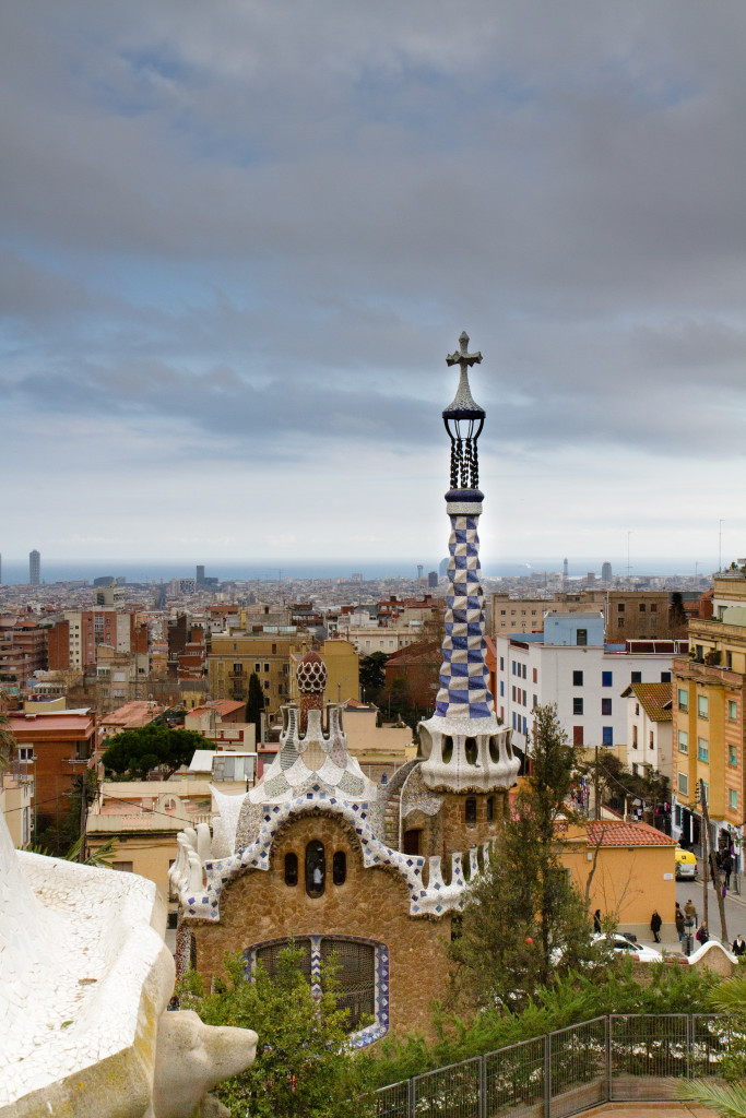 The Guell Park.