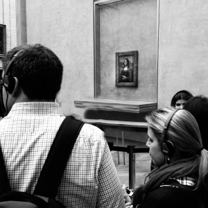 The Louvre has some of the worlds most precious works of art. Be prepared to share them with hundred of other people.