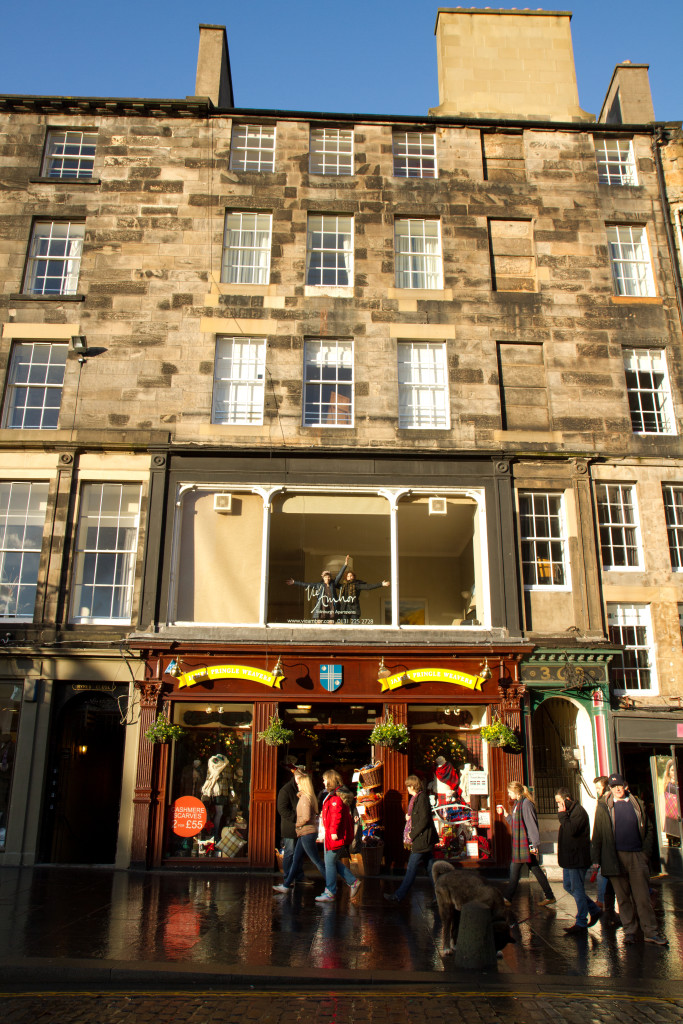 Our Airbnb on the Royal Mile