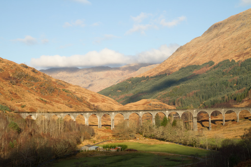 Glenfinnan Viaduct Train Bridge