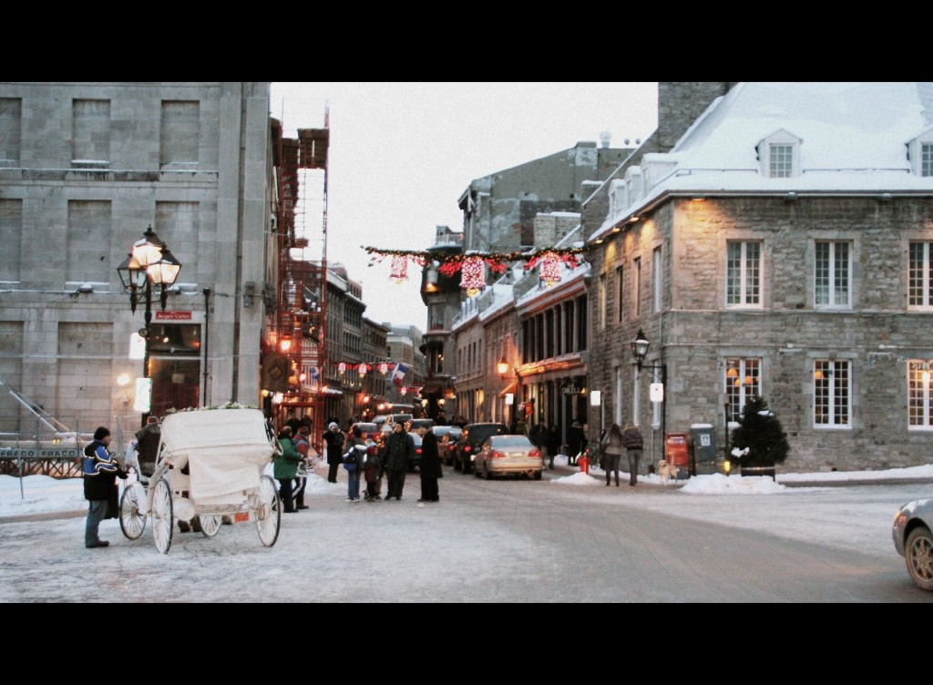 St.Paul Street in Old Town Montreal