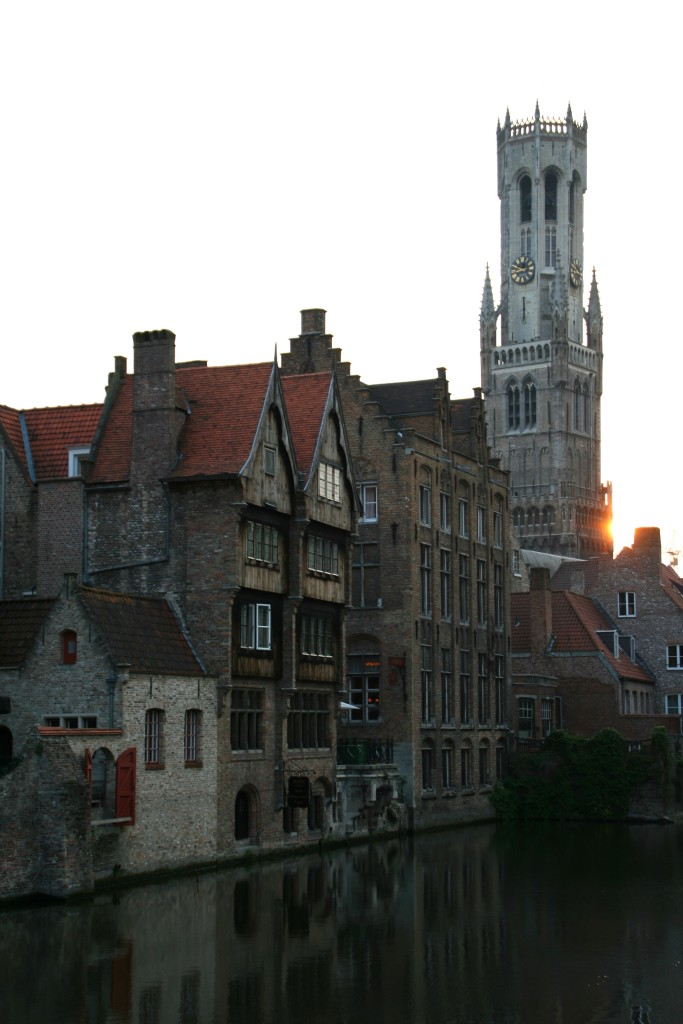 The most picturesqe spot in Bruges...or so they say