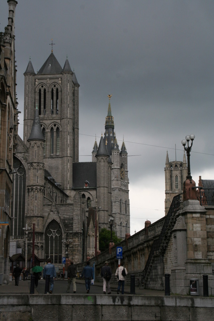 Ghent is a great town for an afternoon getaway from Brussels or a stopover between Brussels and Bruges.